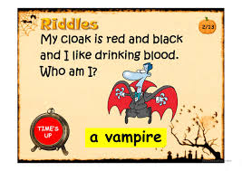 Printable Halloween Riddles by Halloween Riddles