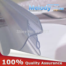 Bathroom Shower Screen Seals Plastic Rubber Bath Shower Screen Door Seal Strips 6 10mm Glass