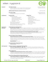 Interior Design Resume Design Resume With Job Description Google Search Design