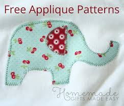 free applique patterns animals shapes letters numbers and