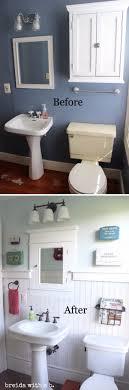 cheap bathroom makeover ideas best 25 small bathroom makeovers ideas on small