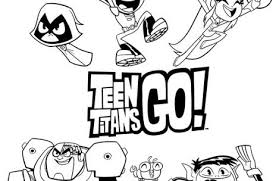 teen titans coloring pages colorings