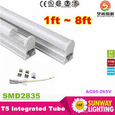 4ft led tube light t5 4ft led light tubes 22w 2300 lumens integrated 1 2m 1200mm led