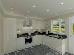 kitchen l quality budget l shaped kitchen package with cream doors trade