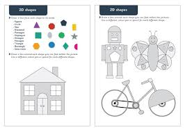 2d shapes maths worksheets free early years u0026 primary teaching