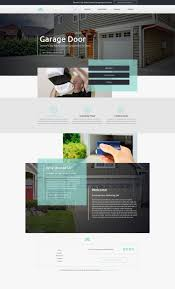 website designs for garage door repair mobile responsive templates your dream site