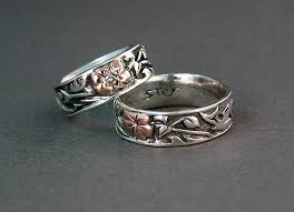 Custom Wedding Rings by East Meets West In U201cour Story U201d Custom Wedding Rings