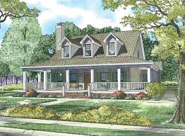 wrap around porch house plans eplans country house plan two