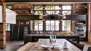 3 Stylish Industrial Inspired Loft Industrial Loft Style House Plans Youtube