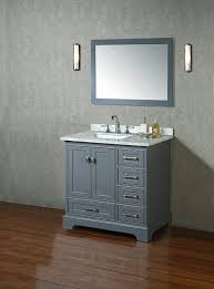 Bathroom Vanities And Mirrors Sets Stufurhome Hd 7130g 36 Cr Newport Single Sink Bathroom Vanity Set