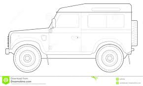 land rover drawing land rover 90 stock images image 945034
