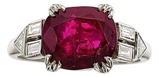 ruby rings prices images Big brilliant gems set off 3 48m heritage jewelry auction jpg