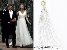 armani wedding dresses the wore five dresses 9style