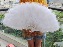 large feather fans 80 45cm large burlesque feather fan bridal