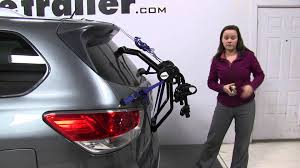 pathfinder nissan trunk review of the thule passage trunk bike racks on a 2015 nissan