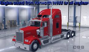 kenworth engine parts engine sound from kenworth w900 to all engines mod american