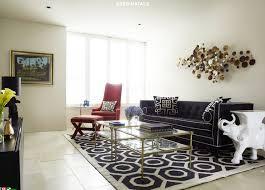 Jonathan Adler Sofas by Navy Blue Sofa Contemporary Living Room Greg Natale