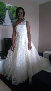 milanoo robe de mari e robe mariée a ligne en dentelle ivoire avec paillettes à une