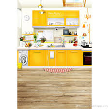 2017 kitchen backdrop wooden floor yellow furniture background