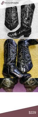 womens black cowboy boots size 9 zodiac shoes for array s zodiac leather boots