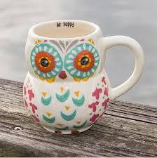 owl mug pink blue owl coffee mug jalexanderhome