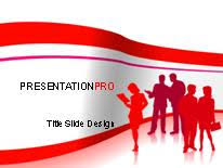 business 03 red powerpoint template background in vectors