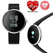 blood pressure bracelet iphone images Bluetooth smart bracelet wristband heart rate v06 blood pressure jpg
