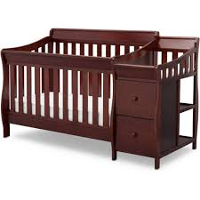Cherry Wood Baby Changing Table Furniture Crib With Changing Table Nursery Cherry Wood