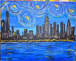 date night nyc skyline