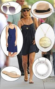 get the look for less u2013 jennifer aniston u0027s tank dress tan