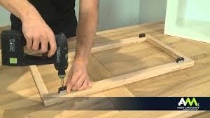 porte caisson cuisine monter une façade de cuisine sur un meuble à cadre