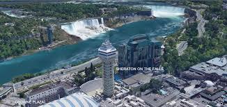 Niagara Falls Canada Map by Niagara Falls Hotels Niagara Falls Fallsview Hotels