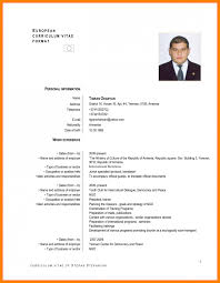 newest resume format standard resume format doc newest gallery cv for sle