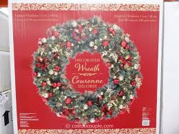 60 inch decorated wreath