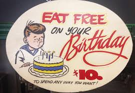 11 restaurants where you can get free food on your birthday in