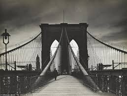 brooklyn bridge walkway wallpapers stunning images from the 1940s cast the spotlight on new york