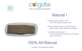 Colgate Foam Crib Mattress Colgate I 100 All Coir Fiber Crib