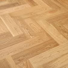herringbone oak natural lacquered engineered wood flooring