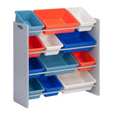 Step2 Lift Hide Bookcase Storage Chest Blue Step2 Blue And Tan Lift And Roll Toy Box 700400 The Home Depot