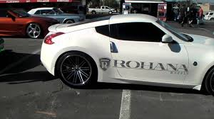 nissan 350z for sale in nc dubsandtires com 2009 nissan 350z review 20 inch rohana rl 10
