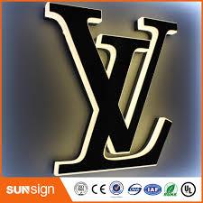 lettre decorative metal lighted alphabet metal letter sign light up letters for sign