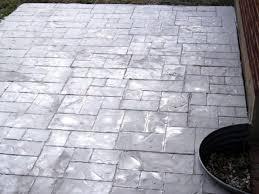 Concrete Patio Vs Pavers by Wonderfull Design Concrete Stamping Winning Stamped Concrete Vs