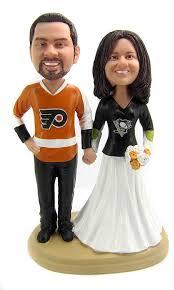 hockey cake toppers custom hockey wedding cake toppers style