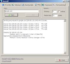 Windows Routing Table Free Hoverip U2013 Gui For Ipconfig Nslookup Routing Table Ping