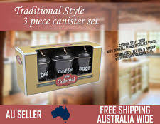 Kitchen Canisters Australia Food Storage Sets Ebay