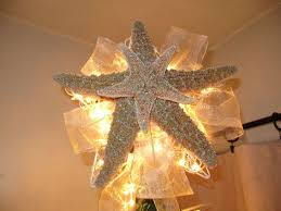 lighted tree topper 86 best starfish tree topper images on starfish