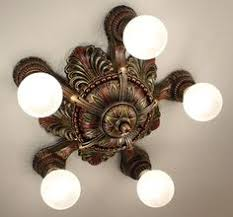 Ebay Ceiling Light Fixtures by 1920 U0027s Antique Vintage Victorian Art Deco Ceiling Light Fixture