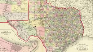 Map O Map Of Texas Cities 1856 Youtube