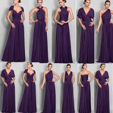 violet bridesmaid dresses strapless chiffon bridesmaid dress lace up strapless