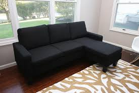 modern contemporary furniture amazon com large black cloth modern contemporary upholstered